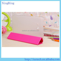 3-Folding Folio TPU Flip Case For Lenovo A5500 A8-50
