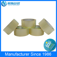 Top Rank Manufactuer Strong Adhesion green acrylic bopp tape with first hand factory competitive price