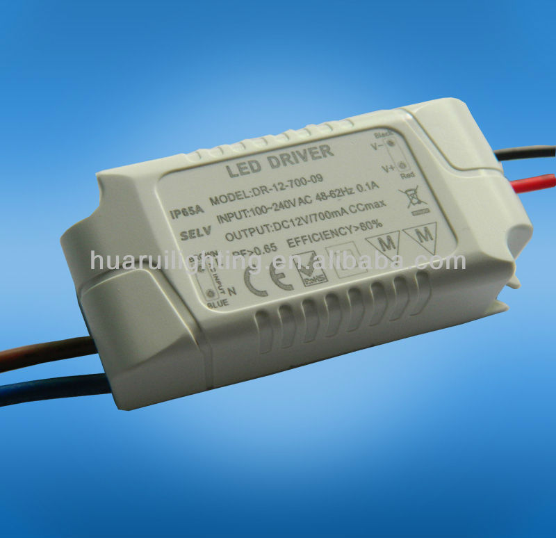 350ma 9w trial dimmable non-waterproof electronic constant current led driver for lamp
