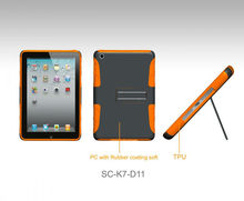 Orange Kickstand PC Hard Cover Case,factory supply directly