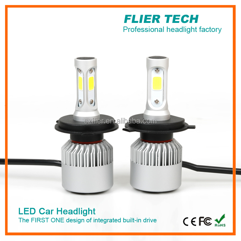 new design led light car for H1/H4/H13/H3/9006/9007/9004/9012/880/881/H7 car headlight led