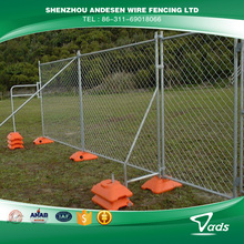 excellent quality powder coated temporary fence