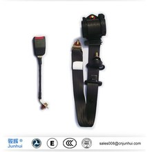 3 point automatic locking motorcycle seat belt