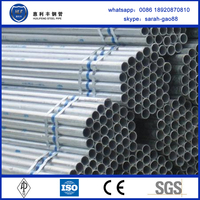 China products high quality rigid galvanized steel pipe