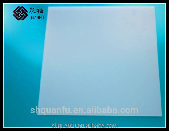 plastic light diffusion sheet embossed solid pc sheet anti-scratch