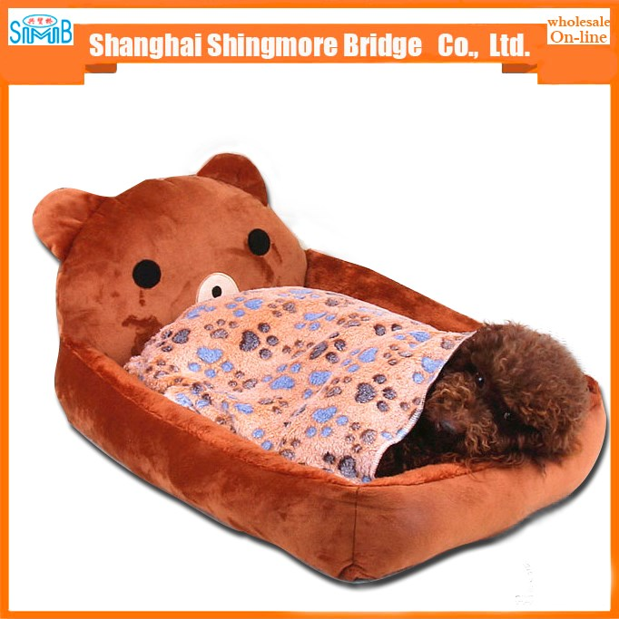 2016 hot sales high quality cartoon dog bed with cheap price
