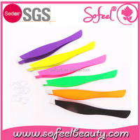 sofeel Stainless steel eyebrow clip tweezers tools