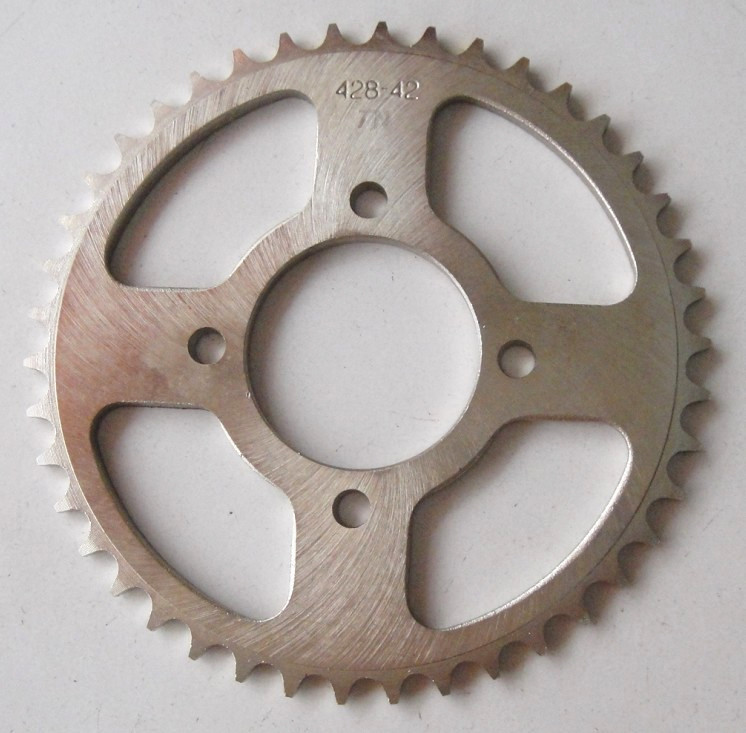 cheap motorcycle parts <strong>1045</strong> <strong>steel</strong> zinc TITAN99 Motorcycle Sprocket and Chain Sets