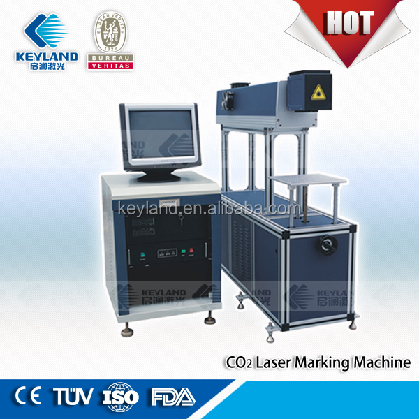 Keyland Scanlab Co2 Laser Marking Machine Writing letters