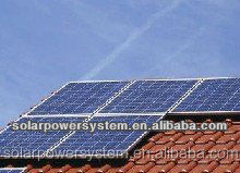 Complete with battery and brackets 15000w hybrid wind solar power system