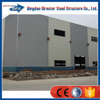 high quality fast install light steel structure prefabricated warehouse for construction