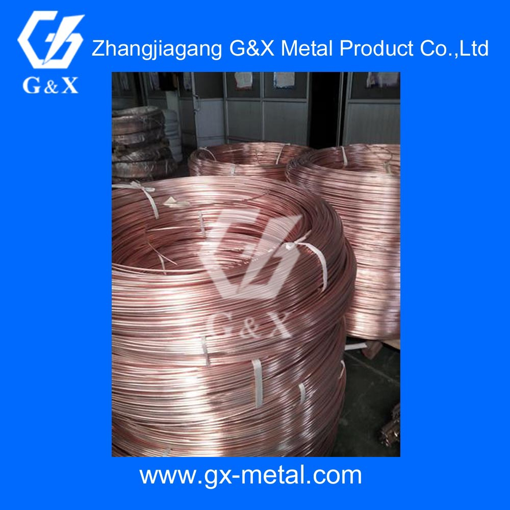steel tube, copper coated, sinlge wall, for refrigerator, motor braking