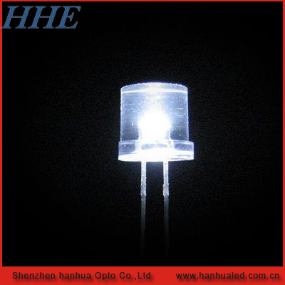 High Quality 3mm/5mm/8mm Yellow Diffused Flat Top Dip LED Lighting Diode ( CE & RoHS )