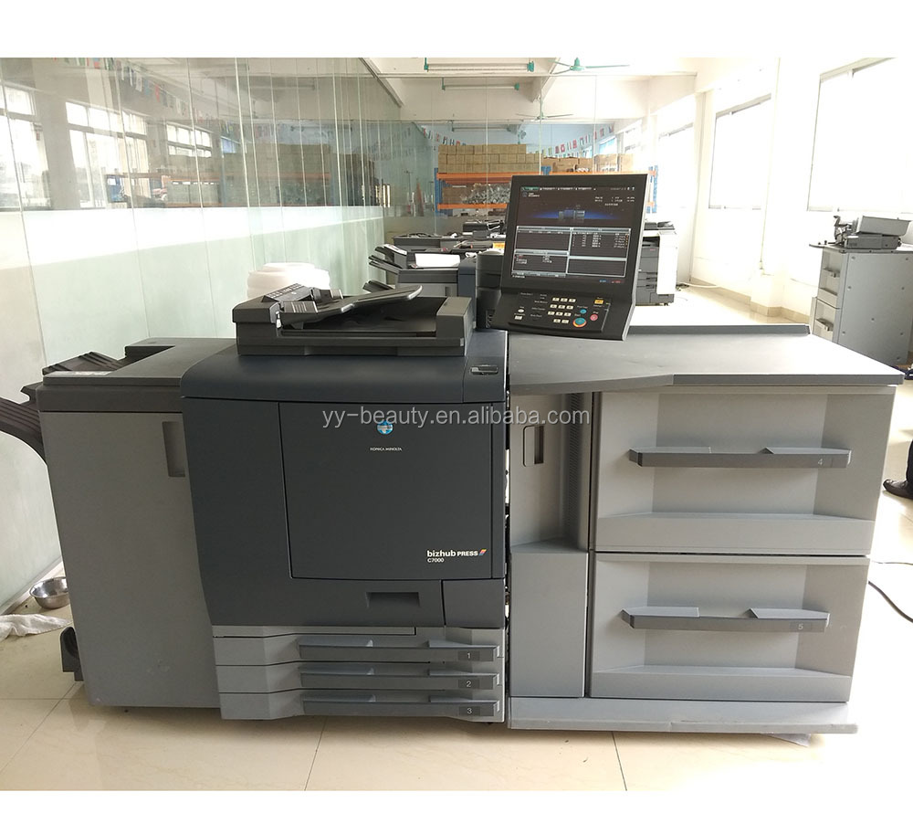 High quality and Long-lasting Digital Press used printer scanner konica minolta copier C6000 C7000