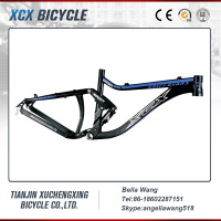 China Full Suspension Aluminum 7005 Mountain Bike Frame