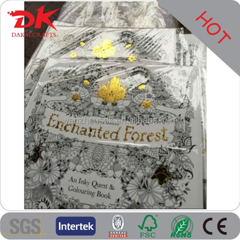 Castle Gilding Enchanted Forest Coloring Books Adults Drawing Books Secret Painting Books