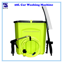 2015 self service automatic car washing machine, 9/28L tank electrical car wash