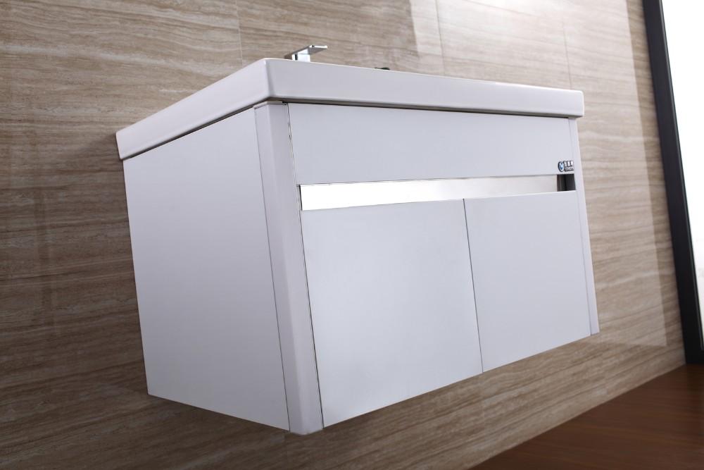European Bathroom Vanity Lights : 2016 European Modern Stainless Steel Bathroom Cabinet Vanity With Led Light T-076 - Buy Vanity ...