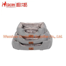 New products 2017 bed for dog pet , grey color sofa for dog sofa, super soft pv fleece cushion for pet dog article