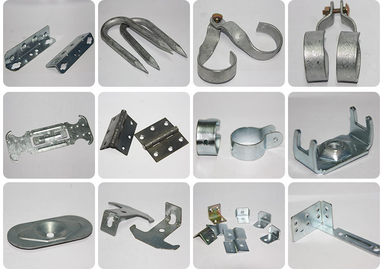 Custom Design Furniture Sheet Metal Stamping Brackets