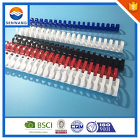 plastic binding covers spiral coil plastic binding comb