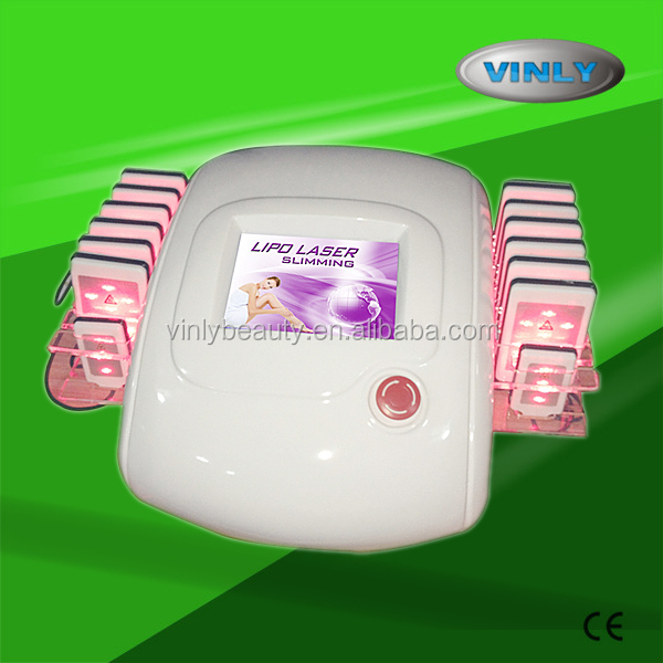 Professional lipo laser lipolysis slimming machine FDA approval