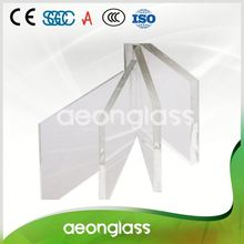 Low Iron Toughened Float Glass For Shower Door