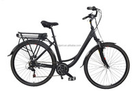 european style middle motor electric bike