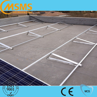 Flat roof solar mounting system solar panel brackets