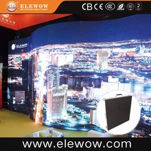 Indoor advertising panels mimi led display wall curved cylindrical display