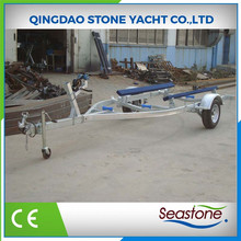 my test High Quality China Inflatable Long Boat Trailer