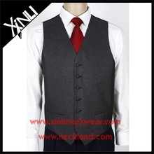 2015 New Product Wholesale Formal Men's Waistcoat Silk