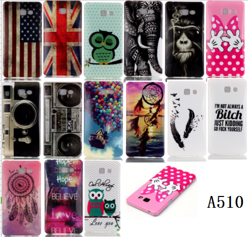 cartoon cute TPU cell phone case for samsung A5 2016 Edition, for samsung galaxy A5 2016 Edition case accessory