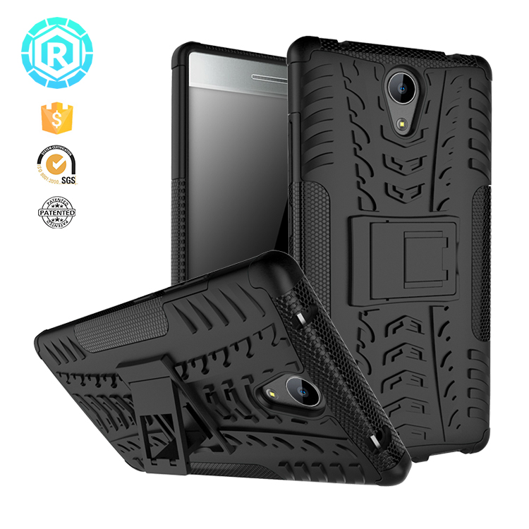TPU HYBRID attractive light plastic bumper mobile phone case cover for Lenovo Phab 2