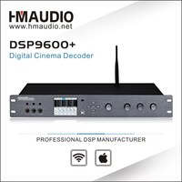 DSP9600+ with 2-level panel lock function and Record output Home theater processor