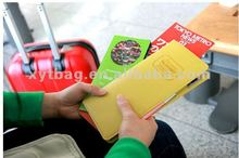 2012 new Korean fashion leather passport holder for holding passport