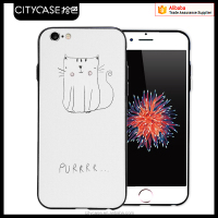 city&case 2016 creative cute mobile back case cover for iPhone6 6plus