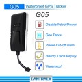 Wholesale top quality GSM GPS waterproof IP65 ignition cut off vehicle motorcycle tracker with android IOS Apps
