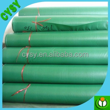 China Heated white and silver plastic printed tarps roll price hdpe pe tarpaulin cover sheet