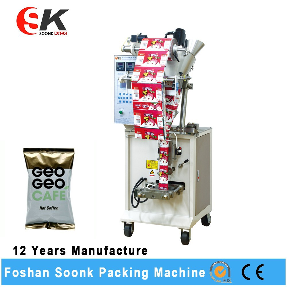 Volumetric Dosing Piston Milk Pouch Manual Powder Filling Machine