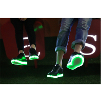 Zapatos inteligentes Zapatos Expositores hip hop led shoes