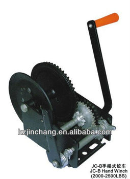 High Quality JC-B type Hand Winch 2000-2500LBS