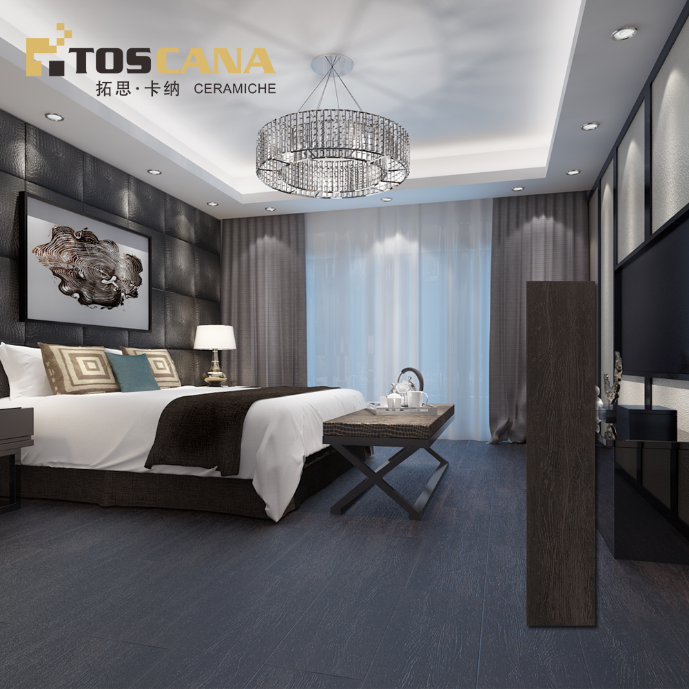 foshan porcelain wood texture tile flooring hot sale