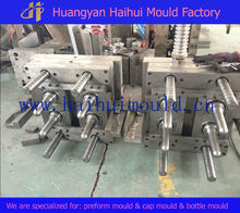 injection mould for bottle preform production