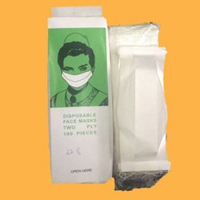 Cheap Disposable Earloop Paper Face Mask For Food Service