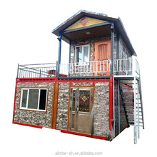 Prefabricated living container houses luxury house