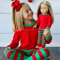 wholesale toddler girl christmas outfit kids christmas pajamas christmas costume