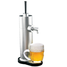 Revolutionary Beer kegerator cooler Battery powered 40Khz ultrasonic bar tool beer tower/ frother / beer bubble dispenser