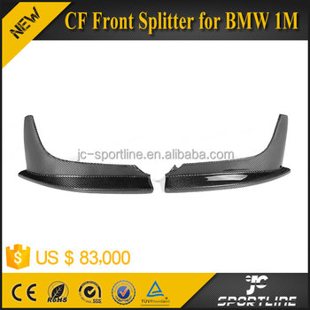 2011 2012 2013 1M 1 Series P style Carbon Fiber Front Splitter for BMW 1M Only