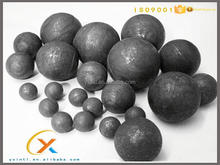 Grinding media ball nickel ore casting steel ball with high quality